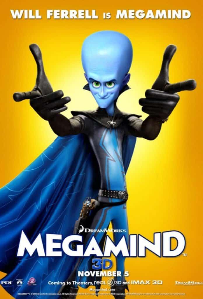 MegaMind (2010) จอมวายร้ายพิทักษ์โลก