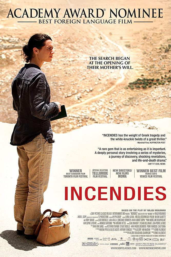 Incendies (2010) ย้อนรอยอดีตไม่มีวันลืม