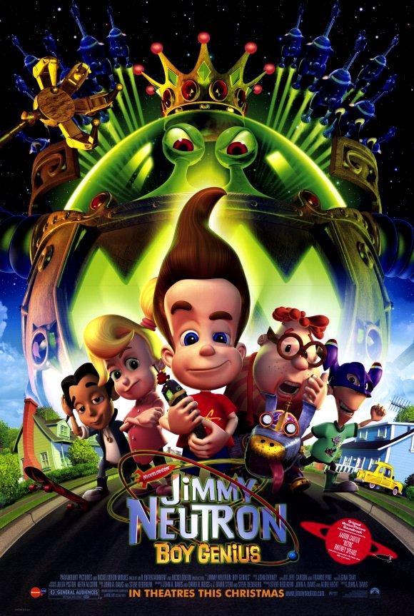 Jimmy Neutron: Boy Genius (2001) จิมมี่ นิวตรอน เด็ก อัจฉริยภาพ